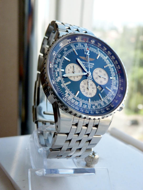 Breitling Navitimer, representing a navigation watch. A sport watch is one of the three watches everyone should have.