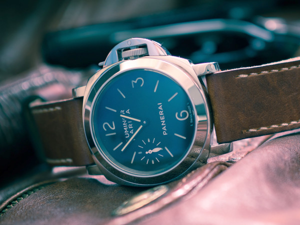 Panerai Luminar Marina, representing a field watch. A sport watch is one of the three watches everyone should have.