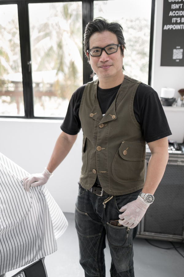 Profile image of Andrew Chang, the proprietor of Othrs Barbers KL.
